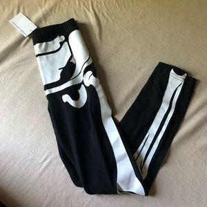 American apparel Halloween skeleton legging